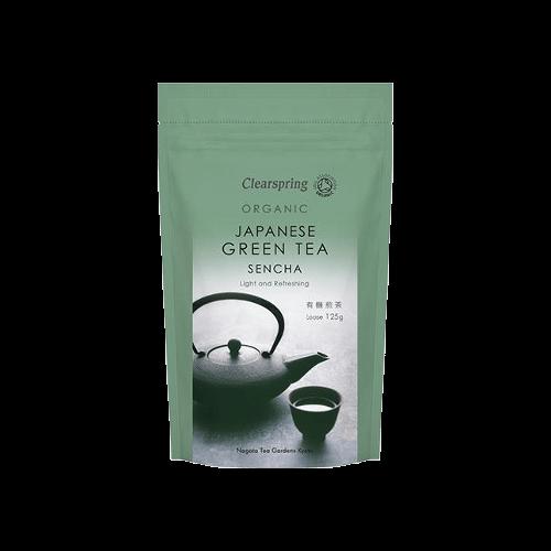 Clearspring Japanese Sencha Organic Green Tea Loose 125g