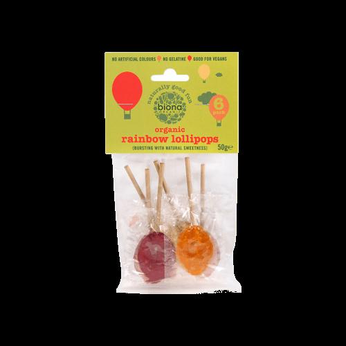 biona organic lollipops