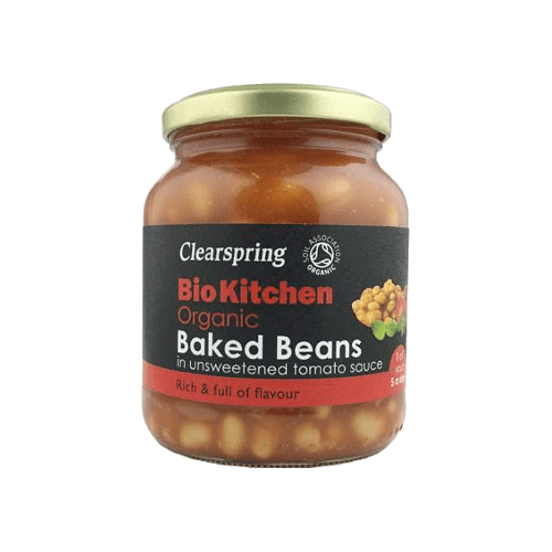 clearspring organic baked beans 350g