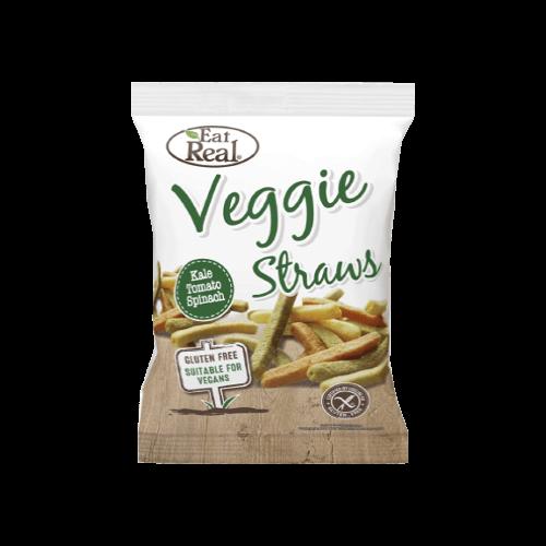 eat real veggie straws kale tomato spinach