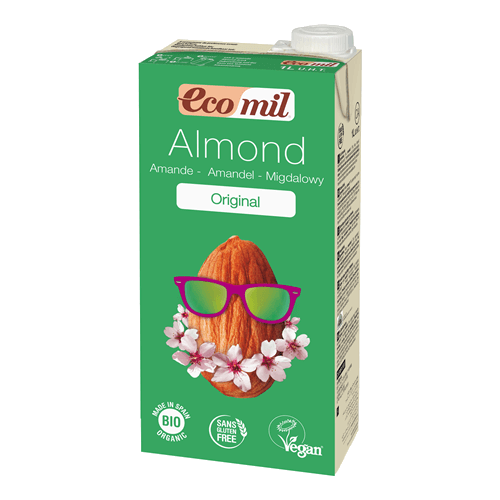 ecomil original organic almond milk