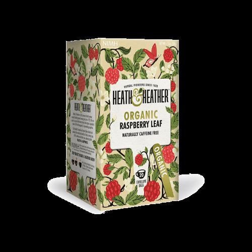 heath heather raspberry leaf tea