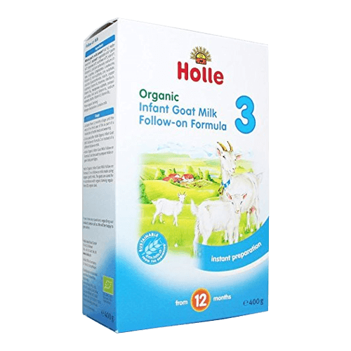 holle organic infant goat milk follow on formula 3