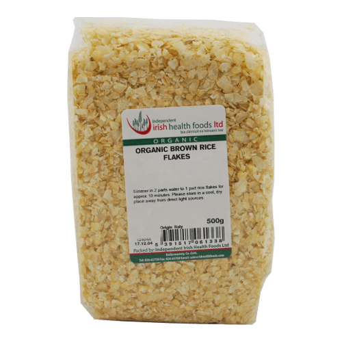 organic brown rice flakes