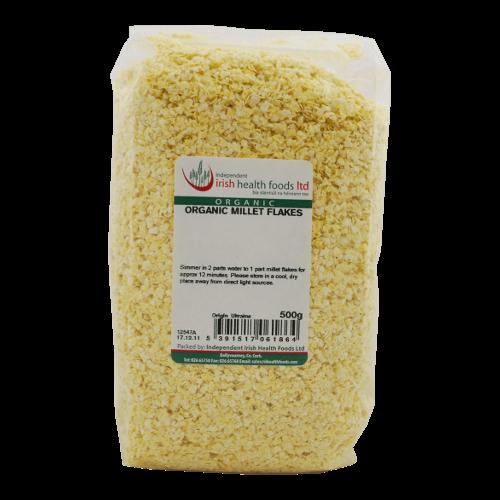 organic millet flakes