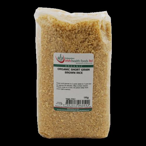 organic short grain brown rice